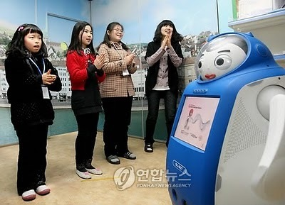 Time magazine names Korea's English-teaching robot one of the year's best inventions. | An Eye on New Media | Scoop.it