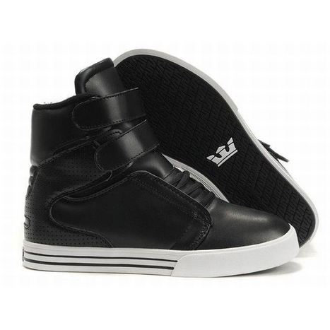Men White and Black Supra Tk Society High Tops Skate Shoes Mens | new and share list | Scoop.it