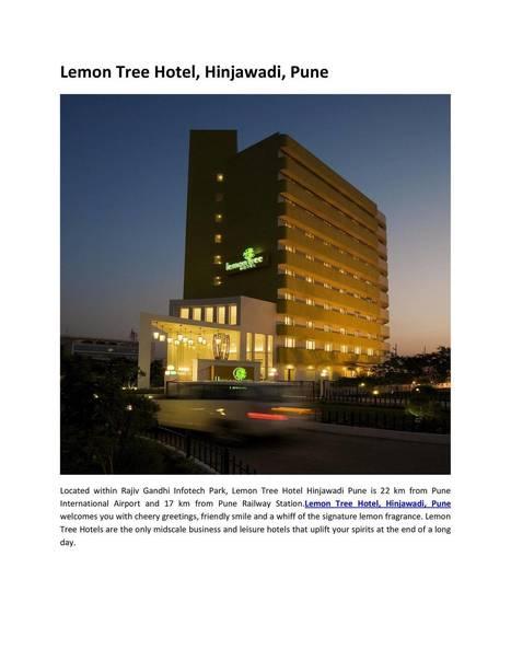 Choose Best Hotel in Pune City<br/>Hotel pune.pdf | hotels | Scoop.it