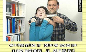 Foto de Messi siendo secuestrado por Mariano Rajoy causa furor en las redes sociales | Partido Popular, una visión crítica | Scoop.it