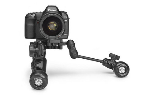 Cinevate Trawly – compact dolly, mini tripod and handheld rig in one | Photography Gear News | Scoop.it