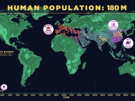 Captivant : l'évolution de la population humaine en vidéo | Nouveaux paradigmes | Scoop.it