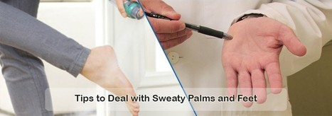 Excessive Sweating: How to Cope with Sweaty Palms and Feet   Botox   Scoop.it
