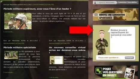 Le conseiller virtuel du site de recrutement de l'armée de Terre vous ... | Fonction Publique Digitale | Scoop.it