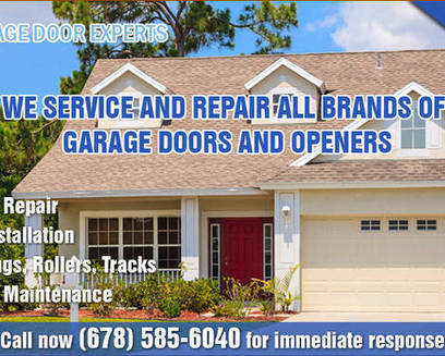 Atlanta Garage Door Experts Company Offers $50 Off on Any Repair | Garage Door Experts Atlanta | Scoop.it
