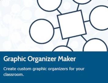 Graphic Organizer Maker: Maak schema's in pdf-formaat om bij allerlei lessen te gebruiken | Edu-Curator | Scoop.it