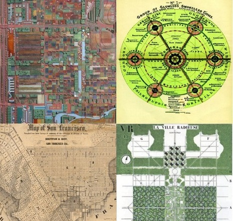 The Evolution of Urban Planning in 10 Diagrams | SCUP Links | Scoop.it