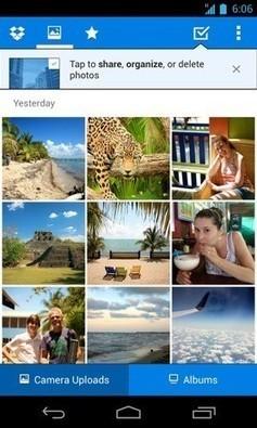 Dropbox para Android se actualiza y permite compartir fotos de una forma más rápida | Tecnología 2015 | Scoop.it