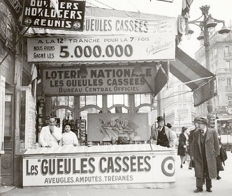 #Marseille : les « gueules cassées» de la Grande guerre | MesRacinesFamiliales | Scoop.it