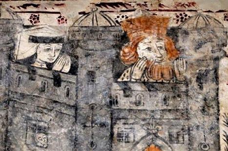 Medieval wall paintings uncovered in Welsh church | Monde médiéval | Scoop.it