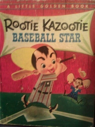 "Rootie Kazootie Baseball Star A Little Golden Book 1954 1st ""A"" 