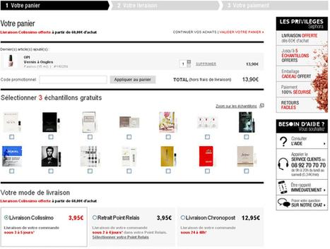 Sephora - Aide - Les produits : Obtenir des échantillons | Diffuse Up | Scoop.it