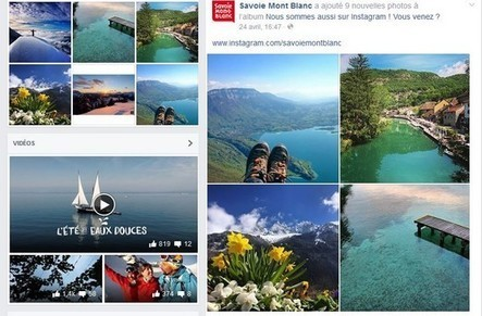 Savoie Mont Blanc Tourisme à l'abordage des réseaux sociaux | Nouvelles Technologies et Tourisme | Scoop.it