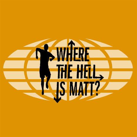 Videos | Where The Hell Is Matt? | Mundos Virtuales, Educacion Conectada y Aprendizaje de Lenguas | Scoop.it