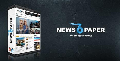 Newspaper v6.3 - Responsive WordPress News/Magazine | Technology Nutshell | Scoop.it