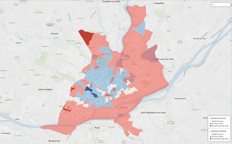 Municipales à Nantes : carto interactive du vote UMP, PS & EELV | La veille de Ouest Médialab | Scoop.it
