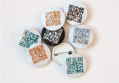 madmoo : I will generate a QR code from your website url and make six 38mm buttons which you can use to promote your business or company, shipping applies for $5 on fiverr.com | The use of QR codes | Scoop.it