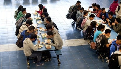 Fast food: Students struggle with healthy options in short lunch periods | The Center for Investigative Reporting | Nutrition in Schools | Scoop.it