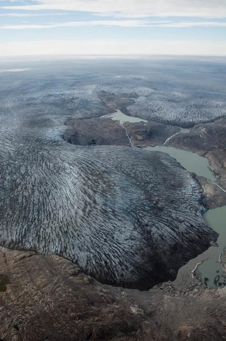 Pourquoi la «neige noire» du Groenland doit nous alarmer | Géographie : les dernières nouvelles de la toile. | Scoop.it