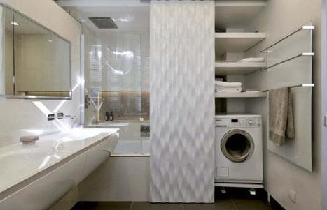Une salle de bains élégante et moderne | deco salle de bain | Scoop.it