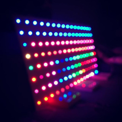 Insta-Arduino   LED matrix in the making - Ran into some colorful...   Raspberry Pi   Scoop.it