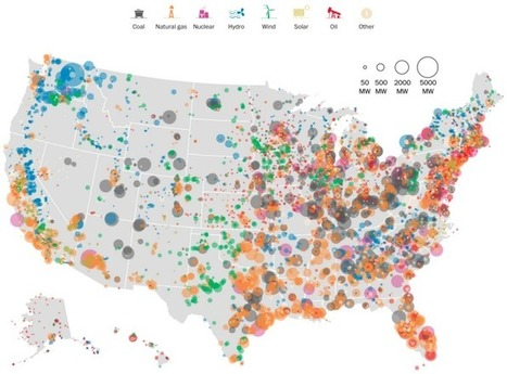 United States electricity map | Sustainable Futures | Scoop.it