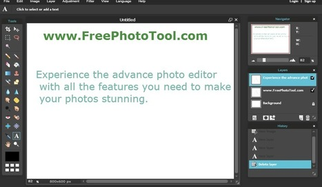 Photoshop Like Free Photo Tool (Online) Try it Now! | Free Online Tools | Scoop.it