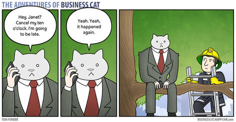 How Your Office Would Look If Your Boss Was A #Cat - #comic | Design Ideas | Scoop.it