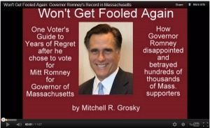 Won't Get Fooled Again:  Romney's Terrible Record as Mass. Governor | Voice4America | Educating Voters and Promoting the Vote | Scoop.it