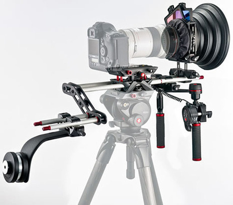Manfrotto SYMPLA, Electronic Follow Focus for DSLR cameras  (via NextHardware) | WorkingCinematographer | Scoop.it