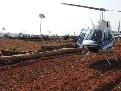 INPE / Notícias - Sobrevoo comprova queimadas e desmatamentos verificados por satélites no Mato Grosso | ArcGIS Geography | Scoop.it