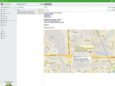 Evernote : une nouvelle interface pour le service web | François MAGNAN  Formateur Consultant | Scoop.it