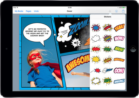 KAPOW!! Book Creator for iPad 4.0 is here - Book Creator app | Blog | Tablet opetuksessa | Scoop.it