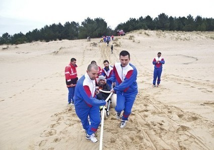 Ascension de la dune du Pilat par 16 handicapés moteur le samedi 28 mai 2016 ! | Le Bassin d'Arcachon | Scoop.it
