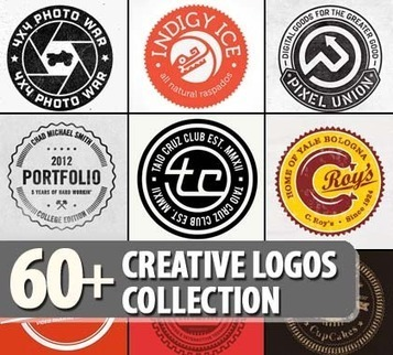 Logo Design: 60+ Creative Logos Collection | logos | Tech News & Entertainment | timms brand design | Scoop.it