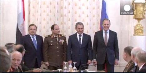 Le voyage d'Al-Sissi à Moscou | Égypt-actus | Scoop.it