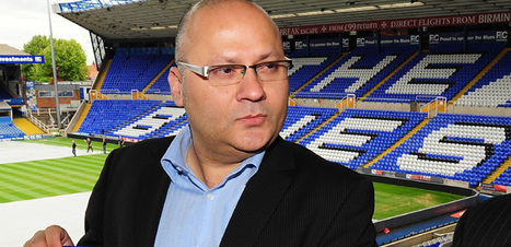 Birmingham City - Peter Pannu starting to make waves at Blues parent company, who admit offer for club made | bcfc | Scoop.it