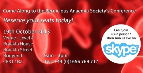 Home Page - Pernicious Anaemia Society | B12 Deficiency | Scoop.it