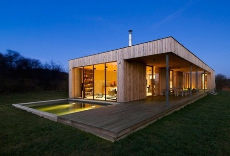[inspiration] Maison contemporaine en bois (République tchèque) | IMMOBILIER 2014 | Scoop.it