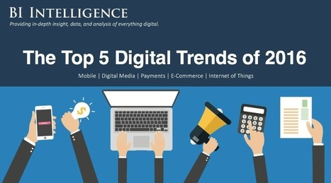 The top 5 digital trends for 2016 | Information Technology & Social Media News | Scoop.it