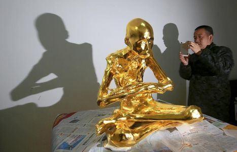 Revered Chinese monk is mummified and covered in gold leaf | Archaeology, Culture, Religion and Spirituality | Scoop.it