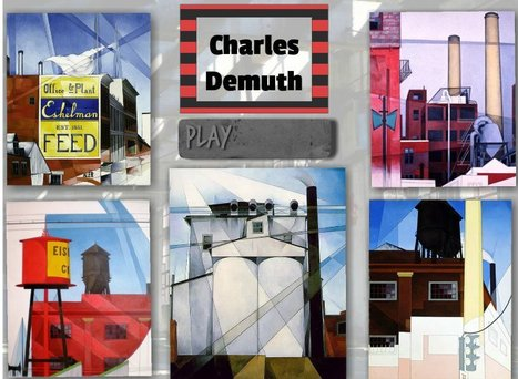 Charles Demuth's industrial landscape | Brainfriendly motivating comprehension resources for ESL EFL learners | Scoop.it