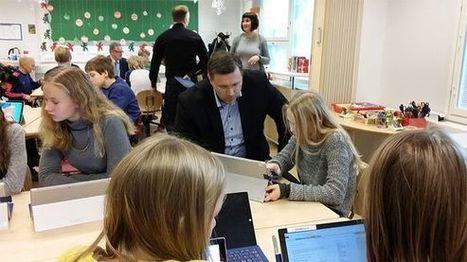 Koodausta, seikkailua ja sähköisiä muistiinpanoja – Torkinmäen koulu loikkaa kärkijoukoissa uuteen opetussuunnitelmaan | Kirjastoista, oppimisesta ja oppimisen ympäristöistä | Scoop.it