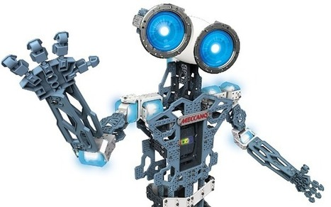 The Meccanoid, a 'Build-your-own Robot' for kids by Meccano, launches today | Technology in Business Today | Scoop.it