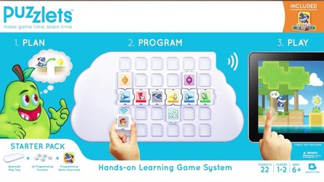 Learning to Code with Puzzlets | A iPad App Review | @DigitalDreamLab · TeacherCast Educational Broadcasting NetworkbySam Patterson | Favorite Articles on Technology in 21st Education | Scoop.it