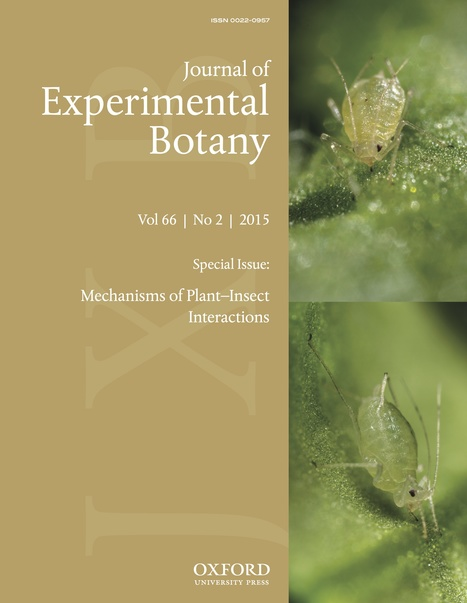 J Experimental Botany: Special Issue: Mechanisms of Plant–Insect Interactions (2015) | Nematology | Scoop.it