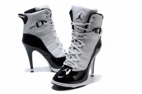 Nike Air Jordan 6Ring Heels White/Black | popular list | Scoop.it