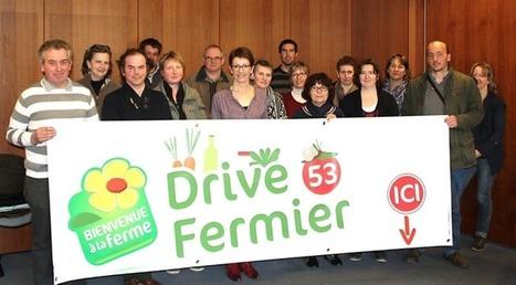 Le Drive fermier séduit de plus en plus de Mayennais | Actu Agri Bio | Scoop.it