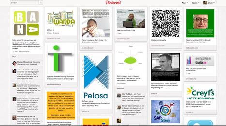 CV su Pinterest, ecco come Wanda Catsman cerca lavoro | pmi - small office | Scoop.it