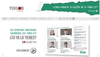 Yovijob - Crea tu vídeo currículum | Entorns Virtuals d'Aprenentatge i Recursos Educatius WEB 2.0 | Scoop.it